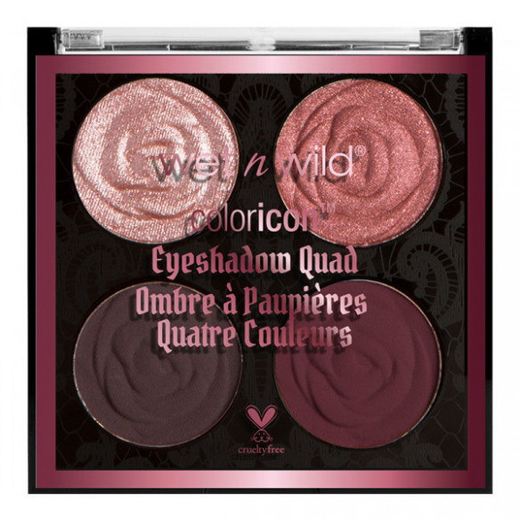 Color Icon Eyeshadow Quad-Pink and Mauve